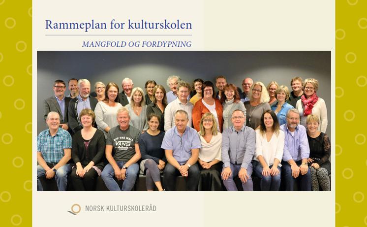 BEHØVER ØKT STATSSTØTTE: Norsk kulturskoleråd ønsker økt statsstøtte blant annet for allerede neste år å hjelpe enda flere kommuner i å implementere den nye rammeplanen for kulturskolen.